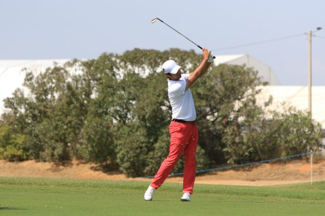 Jorge Campillo esta semana en Dom Pedro Victoria Golf Course. © Golffile | Thos Caffrey