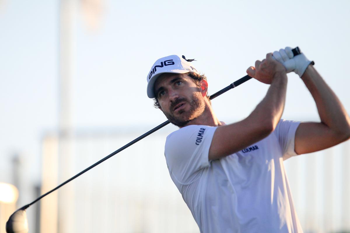 Alejandro Cañizares, hoy en el Portugal Masters. © Golffile | Thos Caffrey