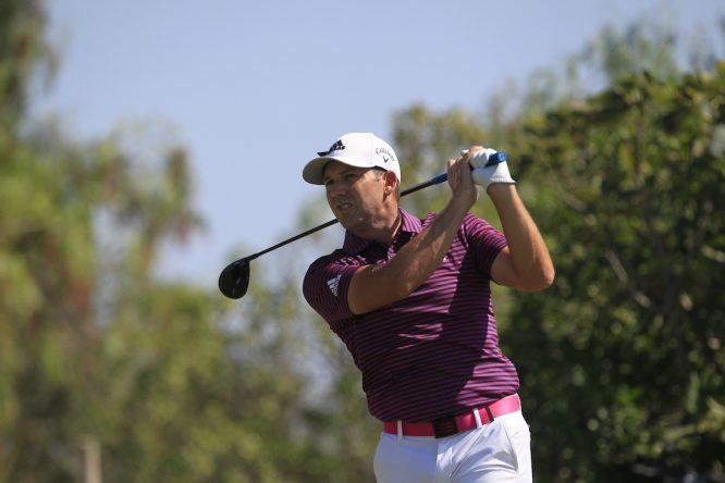Sergio García esta semana en el Dom Pedro Victoria Golf Course. © Golffile | Thos Caffrey