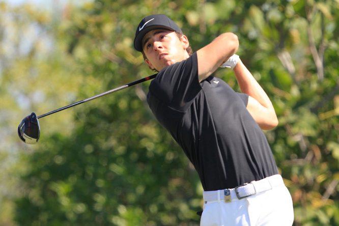Pep Anglés, en el Portugal Masters. © Golffile | Thos Caffrey