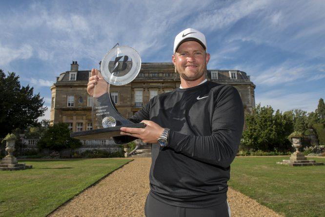 Tom Lewis ganó el año pasado el Bridgestone Challenge. © Ed Bagnall
