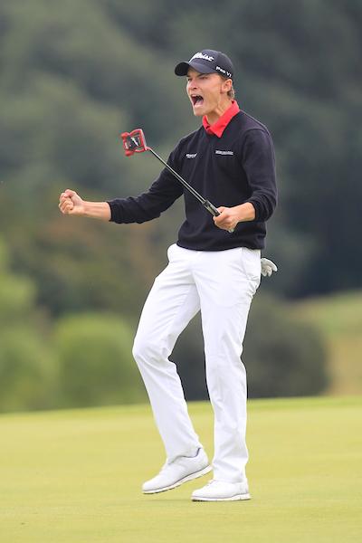 Rasmus Hojgaard. © Golffile   Thos Caffrey