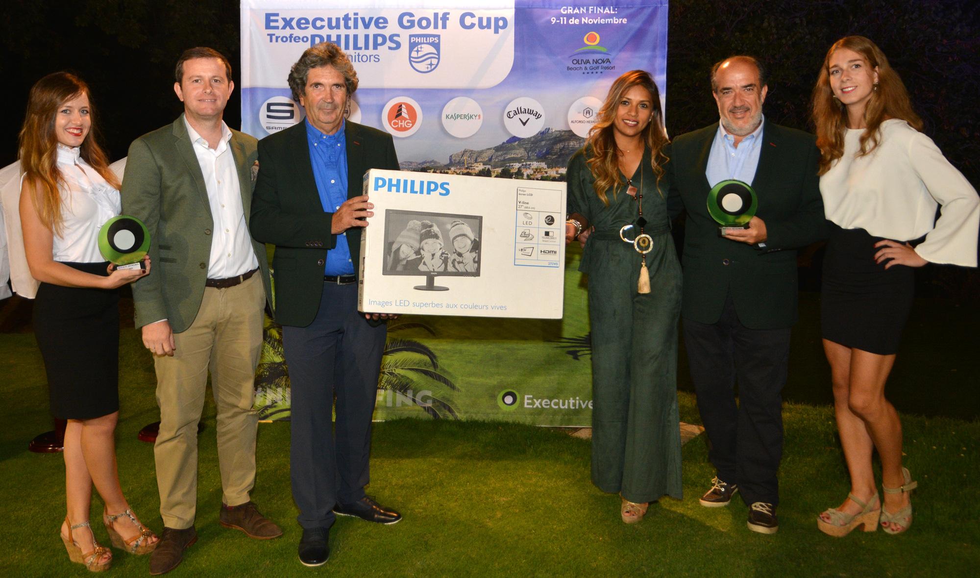 Philips Monitors realizó este magnífico regalo a los campeones del torneo.