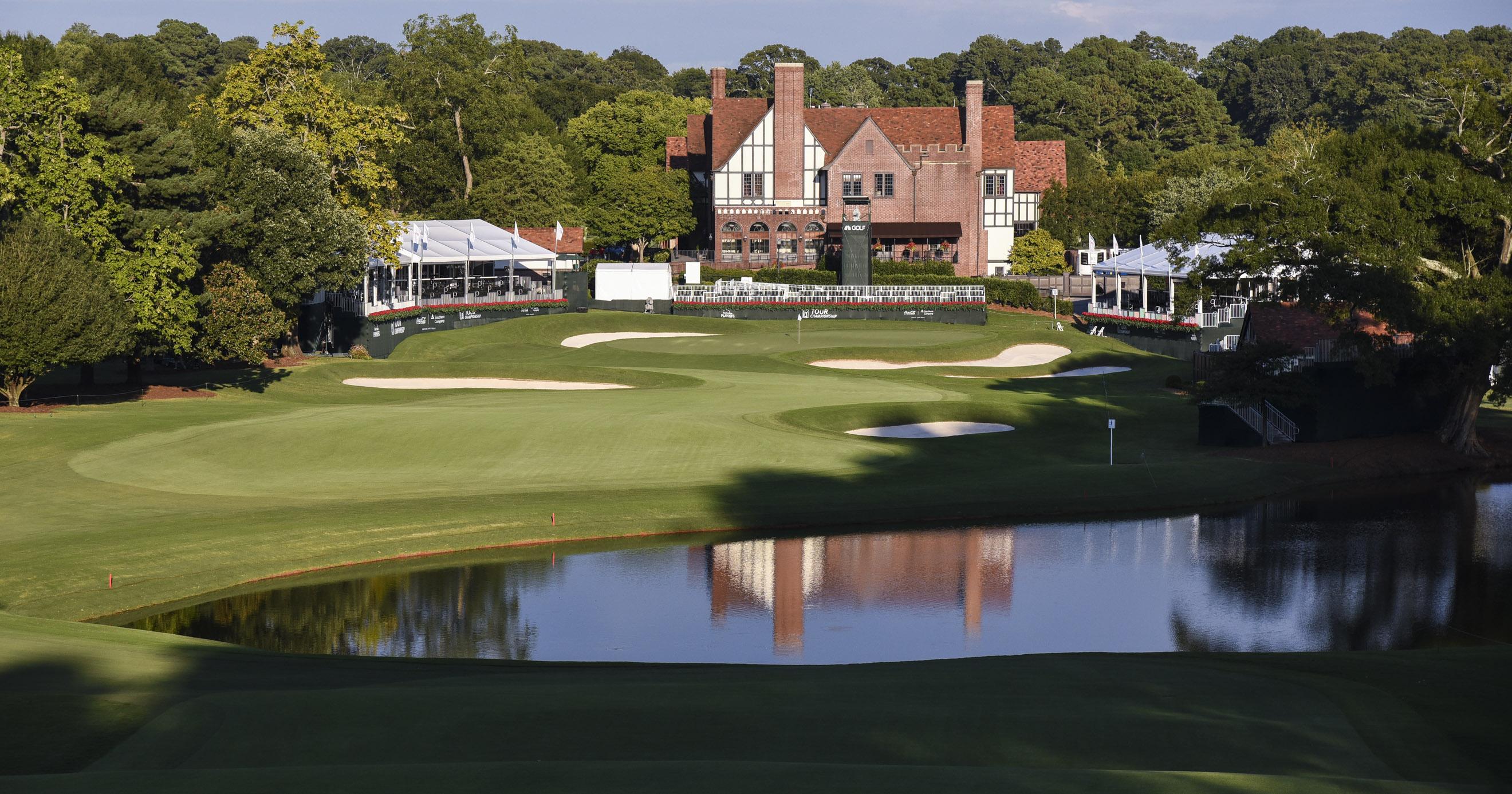 Así es el East Lake Golf Club que acoge el TOUR Championship