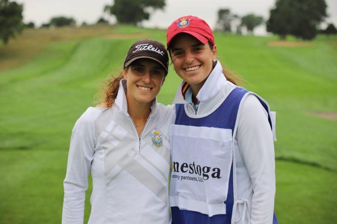 Marta Sanz y Patricia Sanz, en el Symetra.