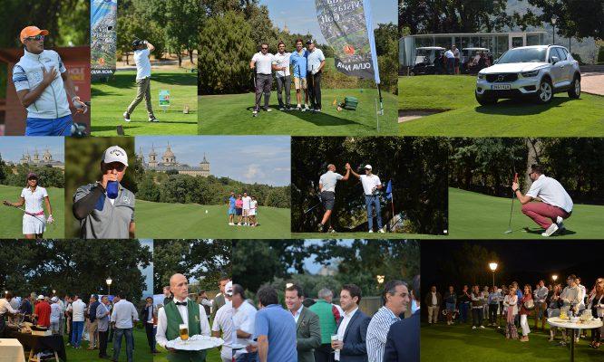 El torneo de la Executive Golf Cup en La Herrería volvió a deparar escenas inolvidables para los empresarios participantes.