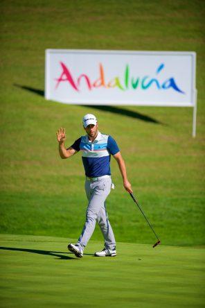 Adrián Otaegui, en el pasado Andalucía Valderrama Masters. @ RCValderrama