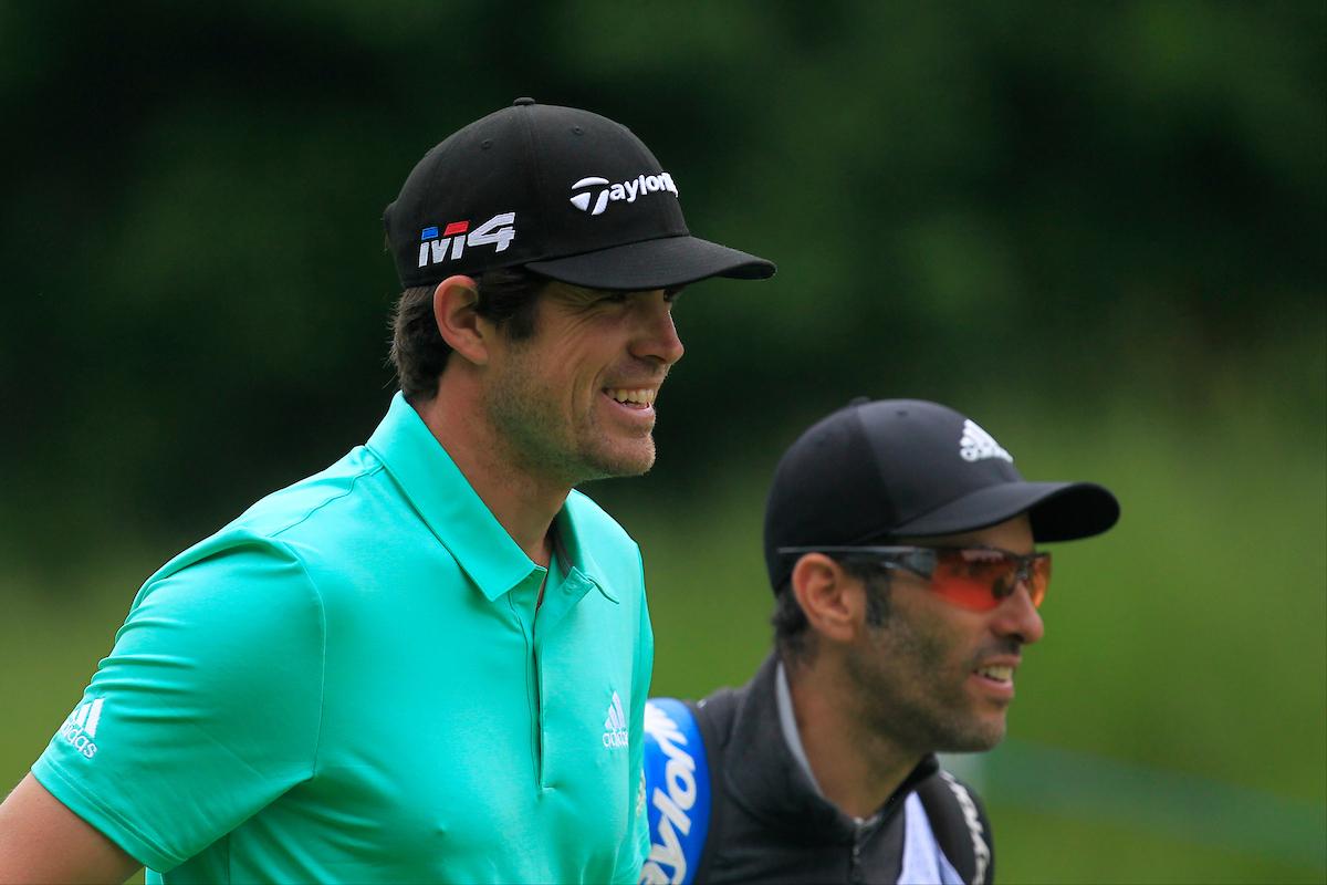 Nacho Elvira, junto a Diego Suazo. © Golffile | Thos Caffrey