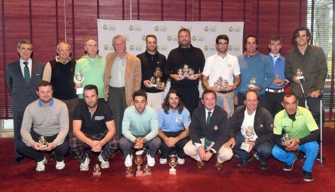 Ganadores del Circuito de Madrid de Profesionales. © Luis Corralo