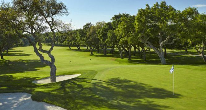 El green del hoyo 9. © Real Club Valderrama