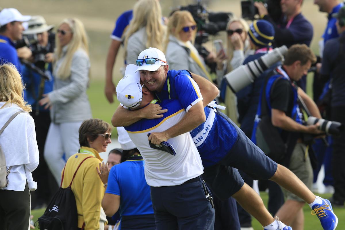 Celebrando la victoria. © Golffile | Eoin Clarke