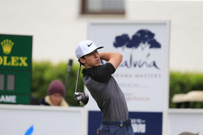 Pep Anglés, durante el Andalucía Valderrama Masters. © Golffile | Eoin Clarke