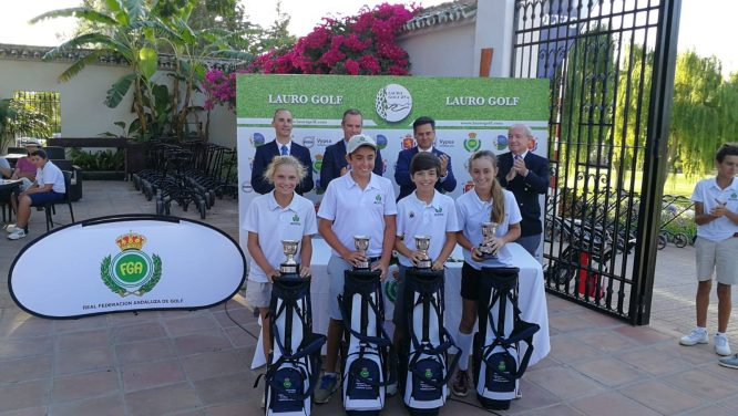 Campeones de Andalucía Infantil.