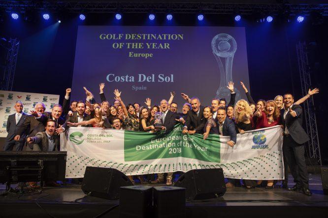 La Costa del Sol recibe el premio al Mejor Destino Europeo de Golf por la IAGTO.