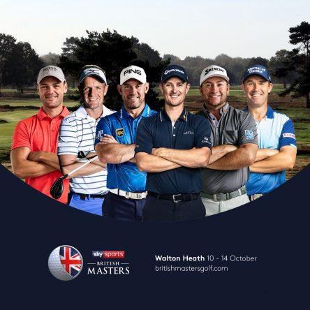 Cartel del torneo @ Sky Sports British Masters
