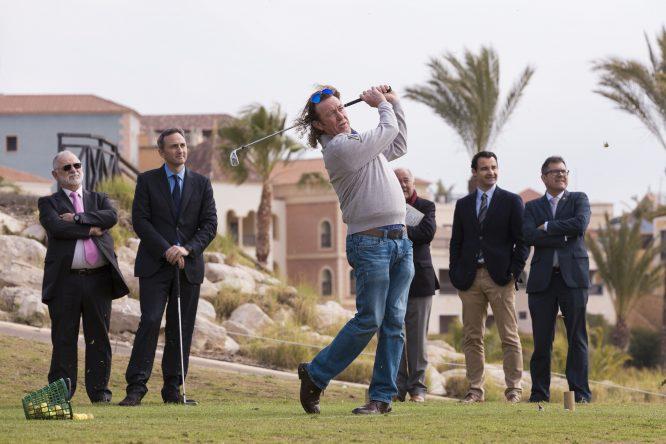 Miguel Ángel Jiménez, con cuatro Ryder Cup a sus espaldas participará en el torneo. © Hugo Alcalde.