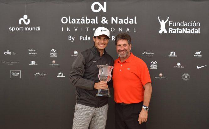 Rafa Nadal y José María Olazábal celebrarán este año la sexta edición del Invitational en Pula Golf. © Luis Corralo