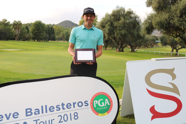 Alfredo García Heredia se lleva el orden de mérito de la primera edición del Seve Ballesteros Tour.