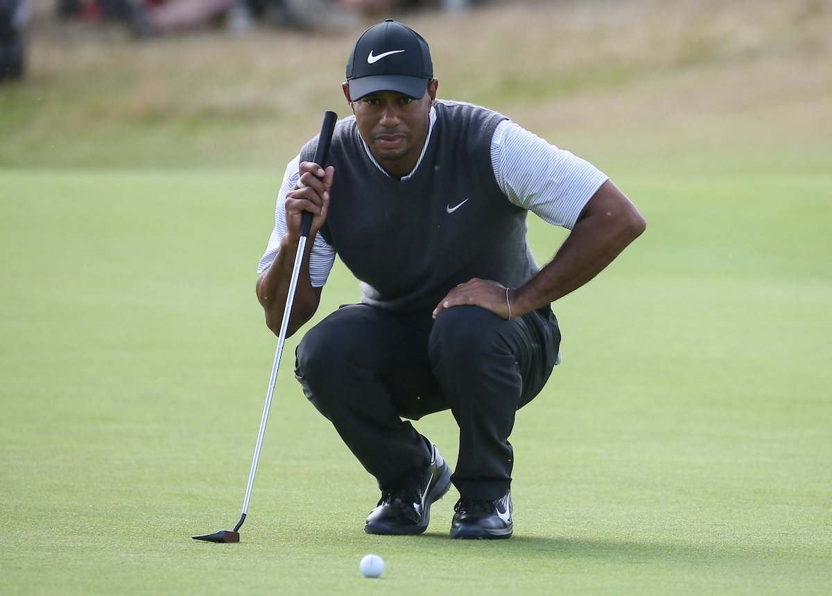 Tiger Woods. © Golffile | David Lloyd