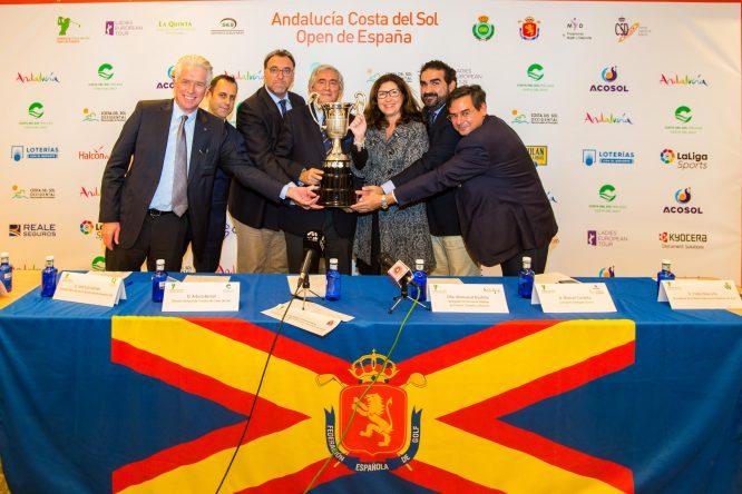 Presentación del Andalucía Costa del Sol Open de España Femenino. © Tristan Jones
