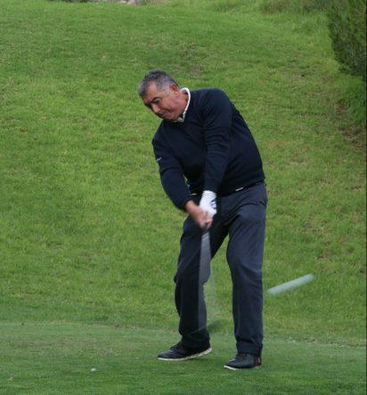 José Manuel Carriles en la primera jornada en Alenda Golf. ©RFEG