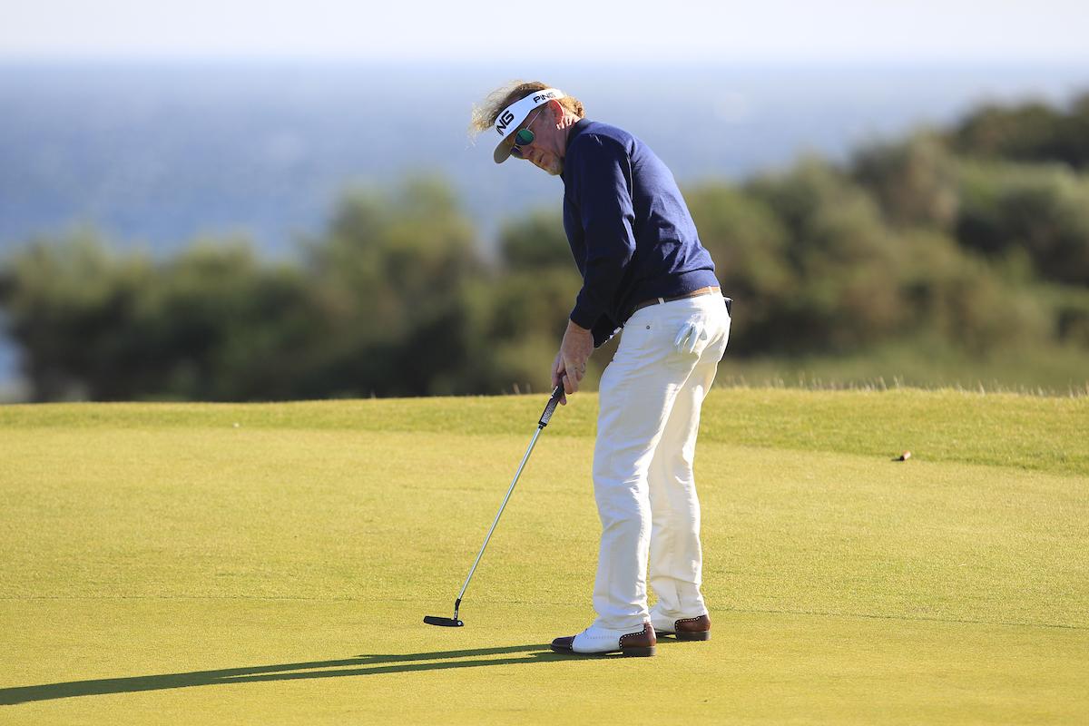 Miguel Ángel Jiménez. © Golffile | Thos Caffrey