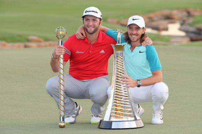 Rahm y Fleetwood, ganadores en 2017 © Golffile | Fran Caffrey