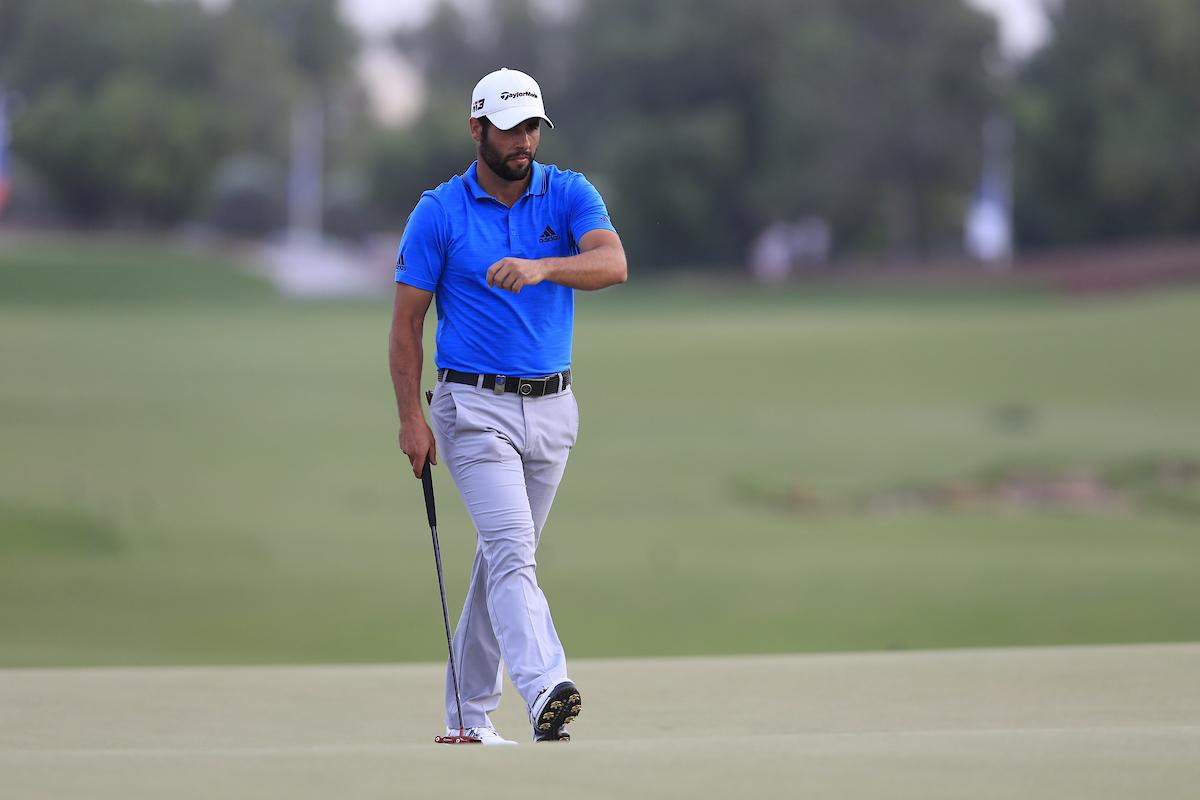 Adrián Otaegui. (© Golffile | Fran Caffrey)