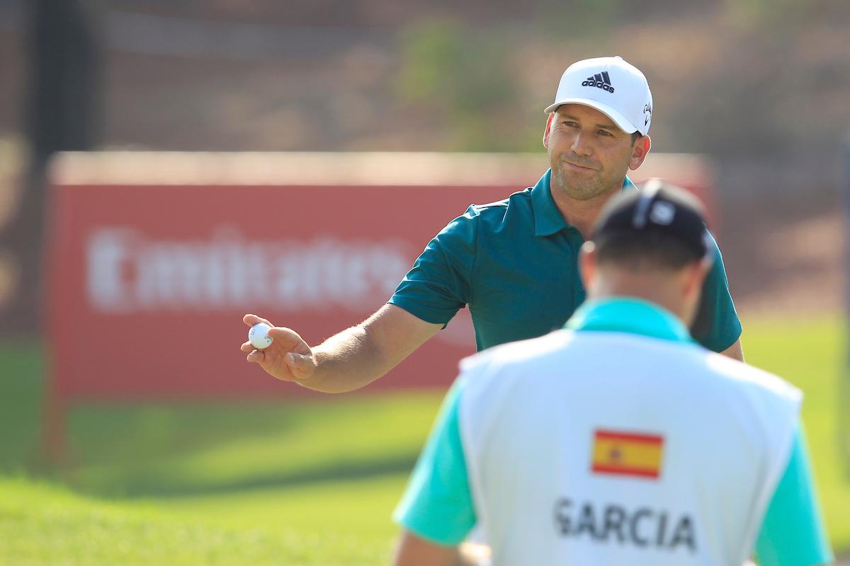 Sergio García, en el DP World Tour de 2018 © Golffile | Fran Caffrey