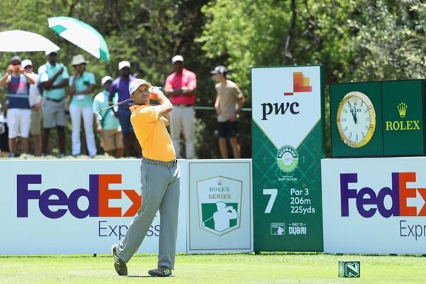 Sergio García durante la tercera jornada del Nedbnak Golf Challenge. © European Tour