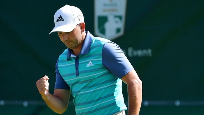 Sergio García durante la primera jornada del Nedbank Golf Challenge. © European Tour