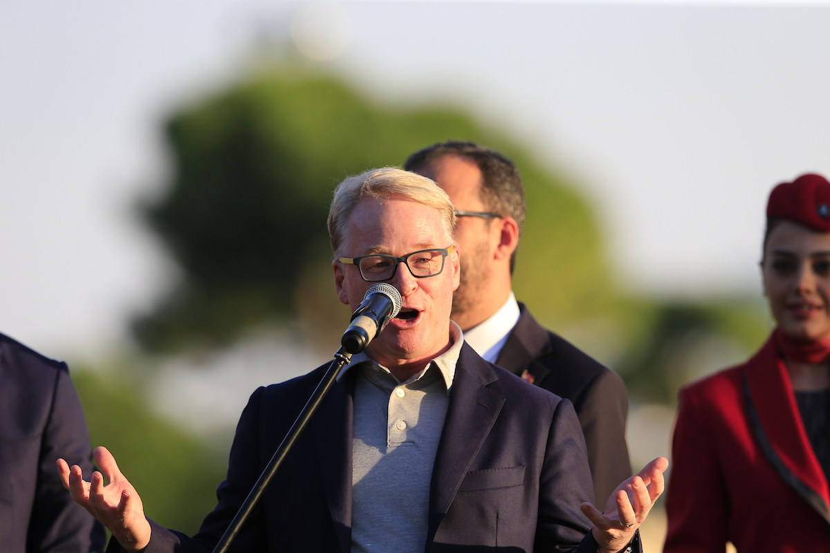 Keith Pelley. © Golffile | Eoin Clarke