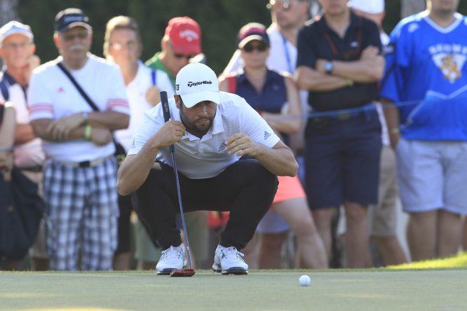 Adrián Otaegui, único español presente an Australia. (© Golffile   Eoin Clarke)