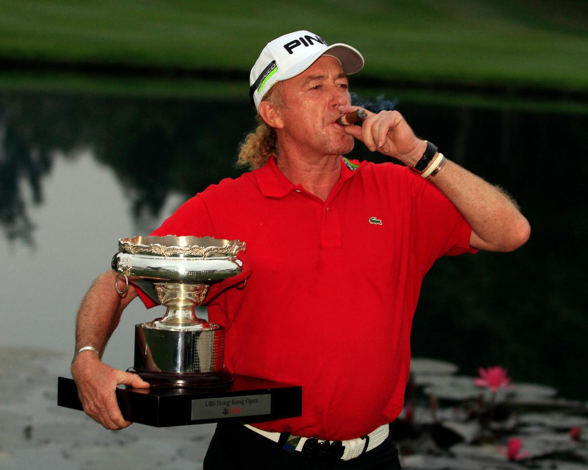 Miguel Ángel Jiménez, cuatro veces ganador del Hong Kong Open, también estará esta semana en el Hong Kong Golf Club. , Fanling, Hong Kong. © Golffile | Jenny Matthews