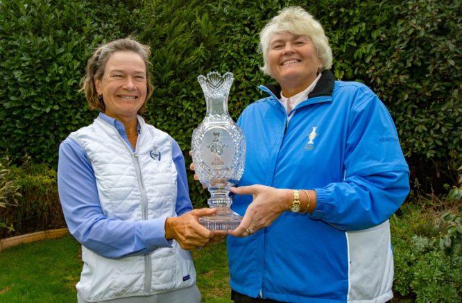 Catriona Matthew ha nombrado esta misma semana a Laura Davies como vicecapitana para la próxima Solheim Cup. © Ladies European Tour
