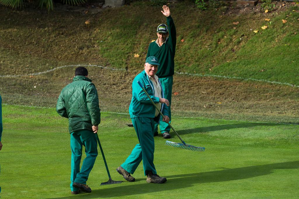Los jardineros de La Quinta han realizado un gran trabajo para recuperar el campo. © Tristan Jones