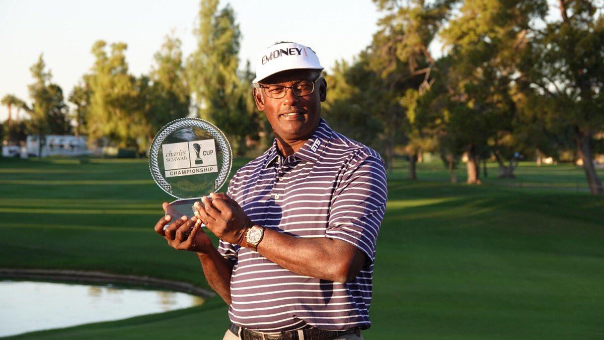 Vijay Singh. © PGA Tour Champions