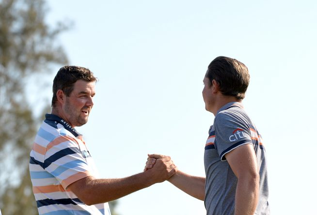 Marc Leishman y Cameron Smith. © Getty Images
