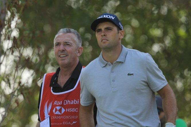 Adri Arnaus en el Abu Dhabi HSBC Championship 2019. © Golffile | Phil Inglis
