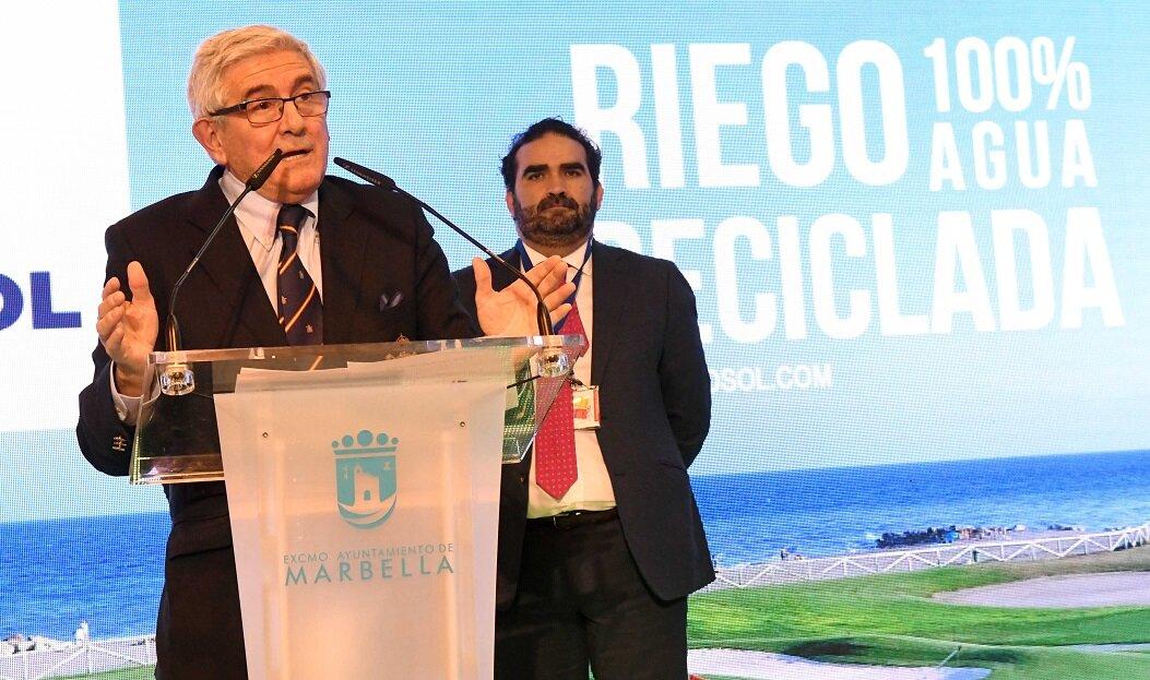 Presentación del 'Estudio del uso del agua en los campos de golf españoles'.