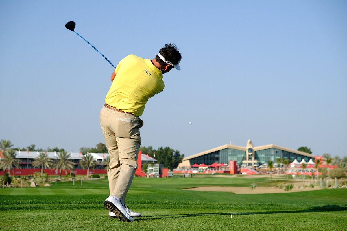 Gonzalo Fernández Castaño, hoy en Abu Dhabi. © Golffile | Fran Caffrey