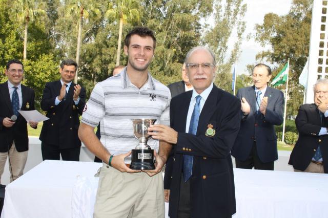 Adriá Arnaus ganó la edición de 2014 de la Copa de Andalucía. © RFEG