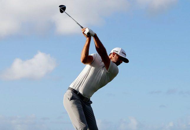 Dustin Johnson, en el Sentry TOC © PGA Tour