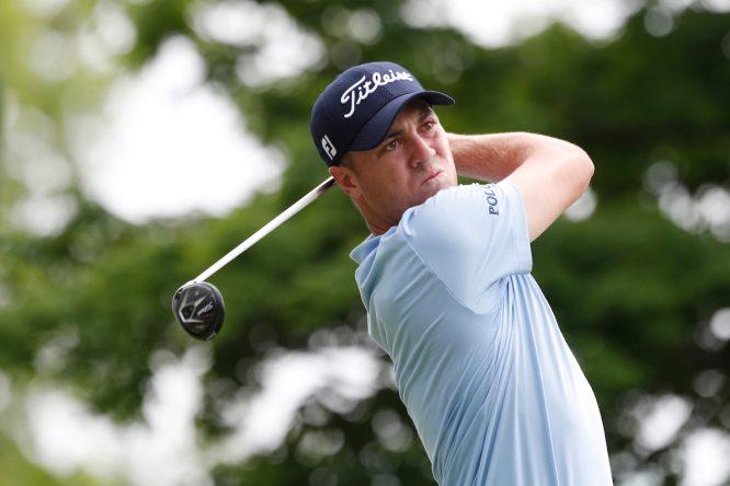 Justin Thomas, favorito y principal atracción esta semana en el Sony Open in Havwaii. © Golffile | Brian Spurlock