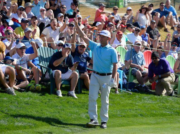 Reavie, celebrando su gesta © PGA Tour