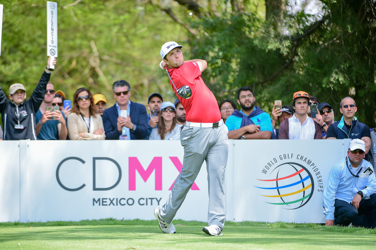 Jon Rahm en la jornada final del WGC Mexico 2017. © Golffile | Ken Murray