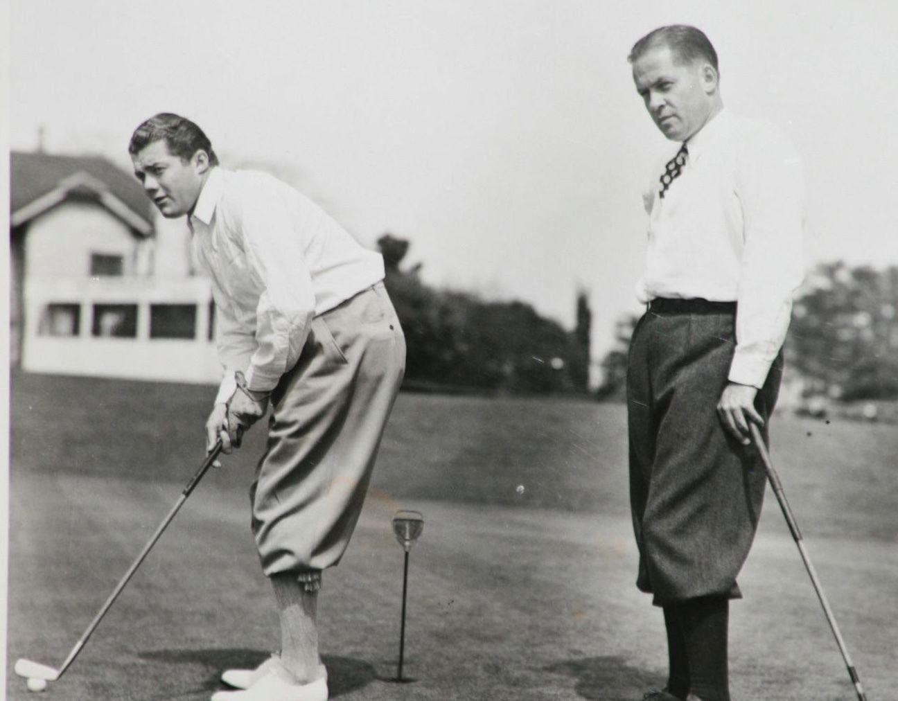 Lawson Little y Bobby Jones.