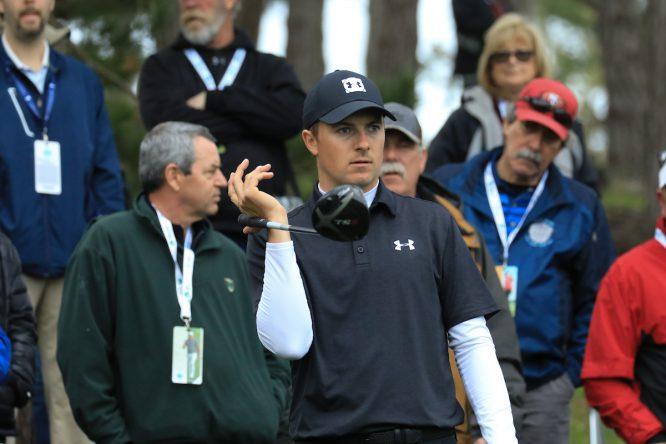 Jordan Spieth, ayer en Spyglass. © Golffile   Phil Inglis