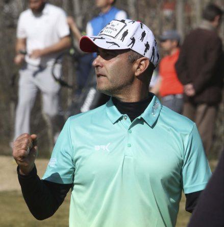 Carlos Balmaseda en el torneo inaugural del Circuito de Madrid de Profesionales 2019. © Fernando Herranz