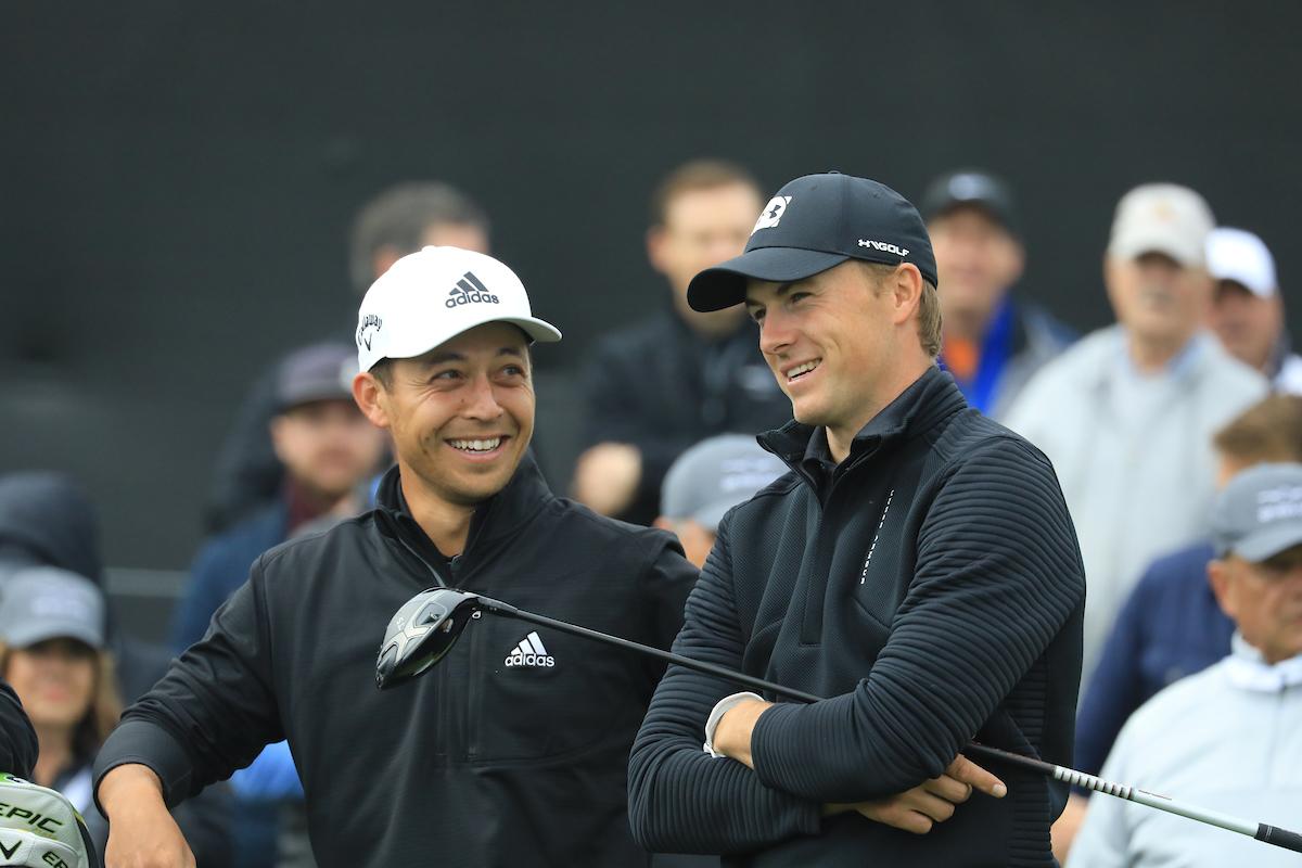 Jordan Spieth y Xander Schauffele. © Golffile | Phil Inglis
